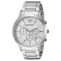 NWT Emporio Armani AR5963 Men's Sportivo Chronograph Stainless Steel Watch $345 - $172.99