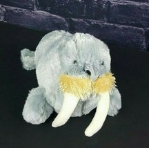 "Ganz Webkinz Plush Gray Walrus HM332 No Code Stuffed Animal 9"" Tusks Oce... - $5.44"