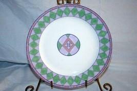 """Oneida 1998 Harlequin Salad Plate 8 1/2"""" - $9.00"""