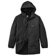 TIMBERLAND A1N8L-001 MEN'S BLACK HOODED JACKET Sz XXL - $89.99