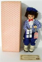 3 Vintage Brinn's Porcelain Calendar Clown Dolls In Boxes With Certifica... - $12.00