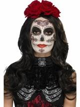 Day of the Dead Glamour Make-Up Kit, Halloween Fancy Dress, BLACK #AU - $11.78