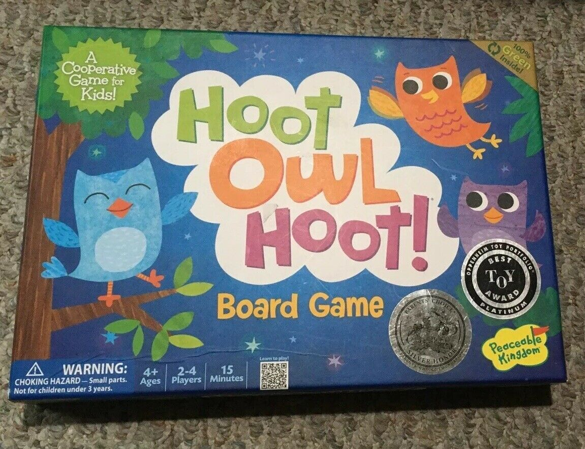 Primary image for Peaceable Kingdom Hoot Owl Award Winning Cooperative Game