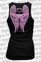 Lethal Angel i Come First Motorcycles Biker Punk Alas Batidor Tank Top LT20387 image 3