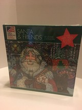 Great American Puzzle Factory Santa and Friends by Lewis Johnson 1000 Piece - $9.49
