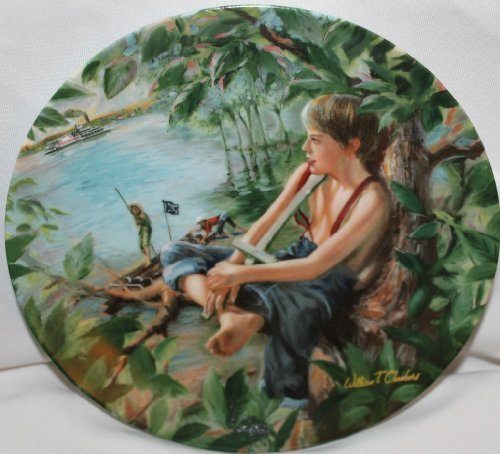 """""""Tom Sawyer The Pirate"""" Knowles Collector Plate by William Chambers 1987 - $19.79"""