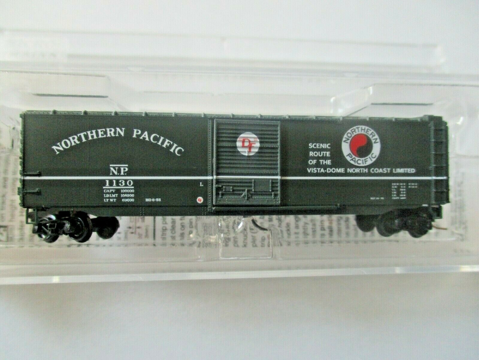 Micro-Trains # 50500452 Northern Pacific 50' Standard Boxcar Z-Scale