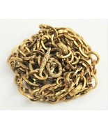 """60"""" ESTATE ANTIQUE Jewelry VICTORIAN 1800s GOLD FILLED GF FANCY TOGGLE N... - $1,295.00"""