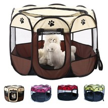 Dog Tent House Portable Folding Playpen Sunshade Outdoor Indoor Small Pe... - $34.87+