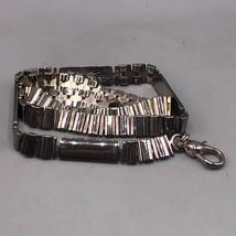 """Vintage Tono Plateado Cinturón Tipo Cadena 607ms 27"""" Largo - $34.40"""