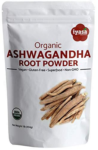 Primary image for Organic Ashwagandha Powder, Withania Somnifera, USDA, Premium Quality, 16 oz