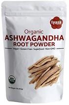 Organic Ashwagandha Powder, Withania Somnifera, USDA, Premium Quality, 1... - $6.99+
