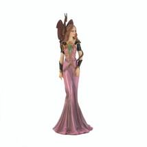 Fairy Figurines And Statues, Miniature Purple Dragon Guardian Figurine P... - $24.58