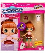 Shopkins Happy Places Kiki Creme & 2 exclusive Petkins  Lil' Shoppie Pac... - $9.99