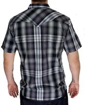 Levi's Men's Classic Casual Button Up Plaid Grey Shirt 3LYSW0182-Gry image 4