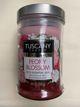 Tuscany Premium Scented Candle - Peony Blossom - $12.95