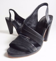 8 5 heels RACHEL 5 COMEY us leather platform 450 Italy Black Sz 9 Clog gRPpxz