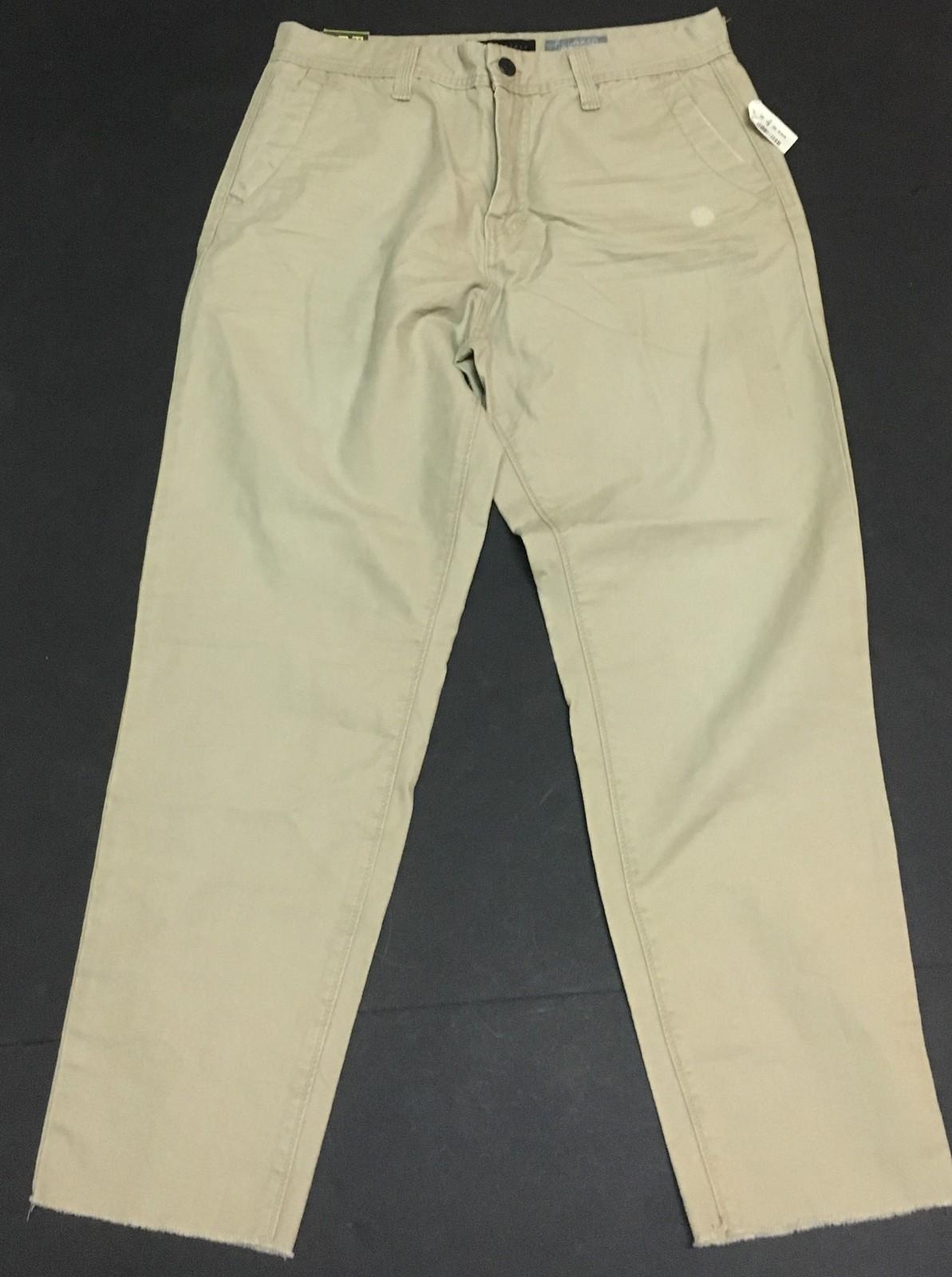 Aeropostale Men's Relaxed Cropped Khaki Pants Jeans SZ 30 x 26