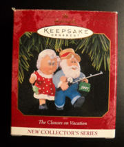 Hallmark Keepsake Christmas Ornament 1997 The Clauses On Vacation 1st in... - $6.99