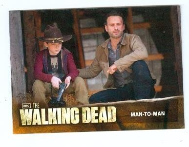 Primary image for The Walking Dead trading card #69 Man to Man Rick Grimes Carl Grimes Father and