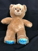 Build A Bear Happy Birthday Plush Teddy Brown New Patch 2018 - $16.82