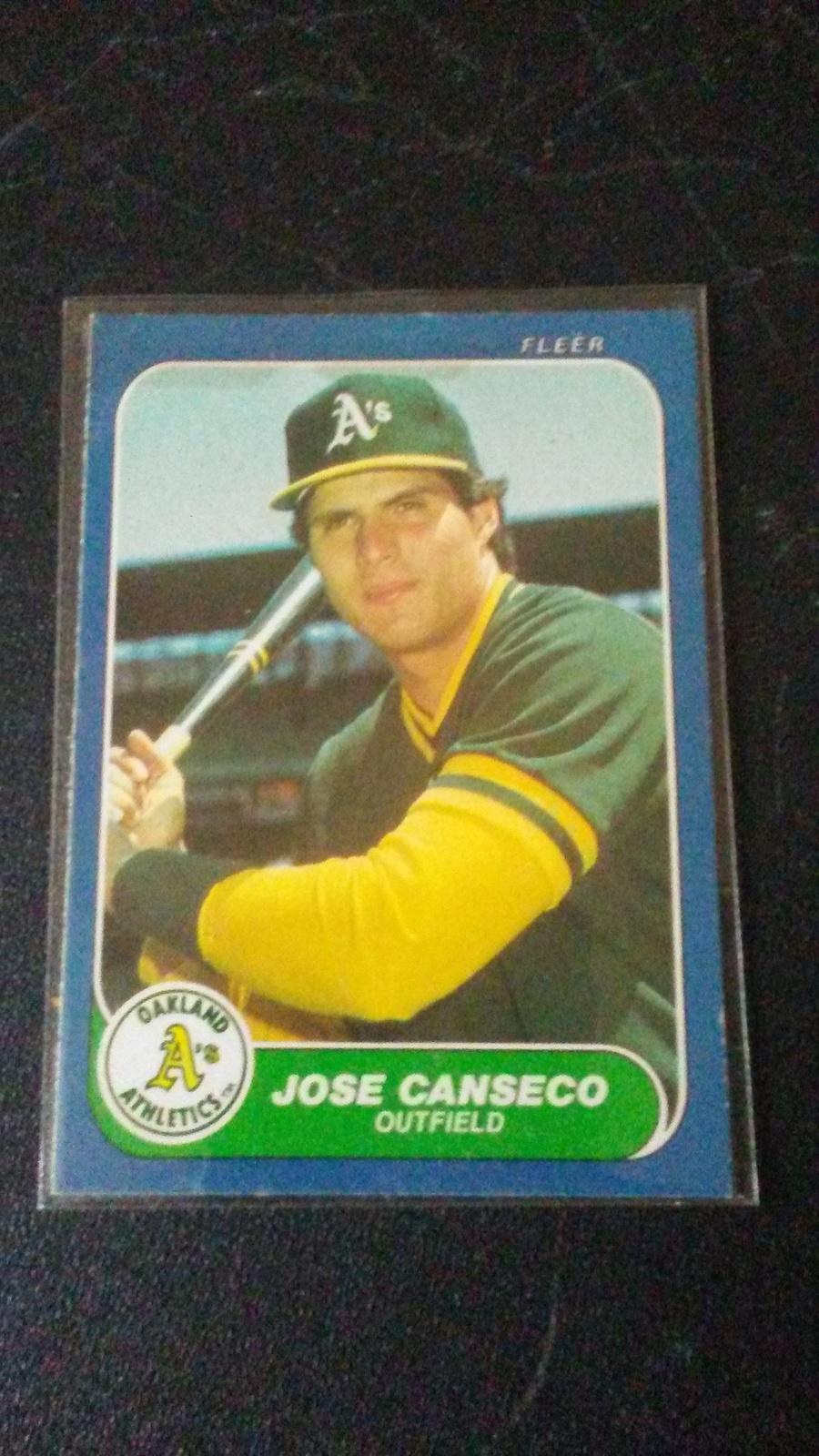 1986 Fleer Update Jose Canseco