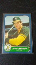 1986 Fleer Update Jose Canseco - $2.49