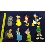 Disney Magnet Lot Of 8 Minnie Donald snow white pochahontas - $29.69