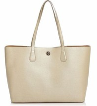 NEW TORY BURCH (41135) PEBBLED LEATHER PERRY TOTE HANDBAG SHOULDER BAG S... - $249.00