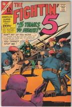 The Fightin' 5 Comic Book #39, Charlton Comics 1966 FINE/FINE+ - $12.13