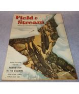 Field and Stream Outdoor Magazine April 1951 Mercury Outboard, Miller Hi... - $9.95
