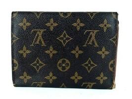 Auth Louis Vuitton Monogram Canvas Porte-Tresor Pochette Trifold Passpor... - $137.61