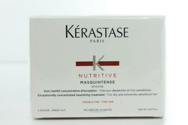 Kerastase Nutritive Masquintense Nourishing Treatment, Fine Hair 6.8 oz ... - $29.95