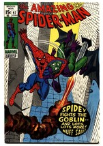 AMAZING SPIDER-MAN #97 comic book 1971-GREEN GOBLIN-MARVEL-Drug issue - $138.71