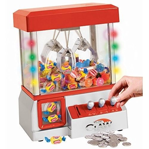 Carnival Crane Claw Game - Features Animation and Sounds for Exciting Pretend Pl