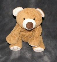TY PLUFFIES - SLUMBERS THE BEAR - BROWN /PEACH CREAM - PLASTIC EYES - 20... - $16.82