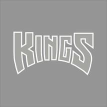 Sacramento Kings #8 NBA Team Logo 1Color Vinyl Decal Sticker Car Window Wall - $5.64+