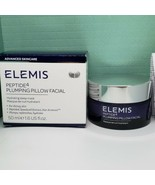 ELEMIS Peptide 4 Plumping Pillow Facial SLEEP MASK - Full Size 1.6 oz Ne... - $44.99