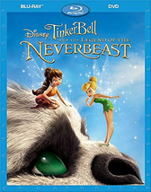 Disney Tinker Bell and the Legend of the Neverbeast (Blu-ray/DVD, 2016)