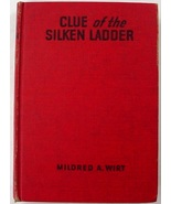 Penny Parker Clue of the Silken Ladder #5 Mildred A. Wirt red hc glossy ... - $9.00