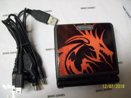 Game Boy Advance SP Onyx Black Handheld System  RED DRAGON SKIN - USB C... - $52.98