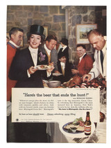 "1959 RHEINGOLD Extra Dry Lager Beer   Original Print Ad 6 1/2"" x 9"" - $8.95"
