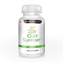 Quit Support Natural Stop Smoking Support 60 Capsules 1 Month Supply