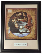 HE PERFECT SACRIFICE - Print Framed - 18.25 x 14 inches by Tommy Canning