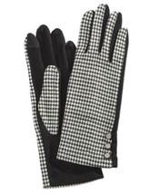 Ralph Lauren Womens Printed Touch Gloves (Black/White, XL) - $49.38
