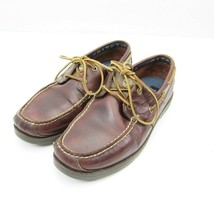Timberland Men's Brown Leather Earthkeepers Boat Shoes 5230R Size 9.5 - $29.65