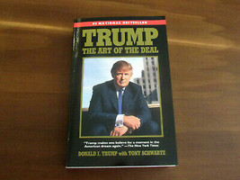 DONALD TRUMP 45TH PRESIDENT SIGNED AUTO THE ART OF THE DEAL BOOK WITH FL... - $494.99