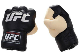 UFC TKO Boxing Gloves with Sound MMA Mixed Martial Arts Punching Jakks Toy - $115.00