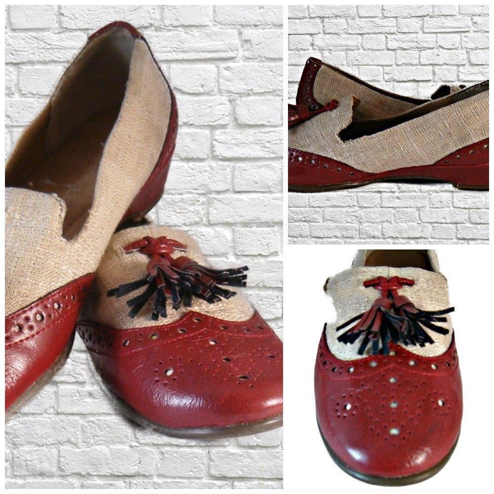 794708f76d7 Aero-soles Women s Sofa Beige Wing Tip Slip and 50 similar items
