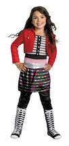 Disney Girls Shake It Up Rocky Deluxe Kids Halloween Costume Dress Up Ne... - $15.83